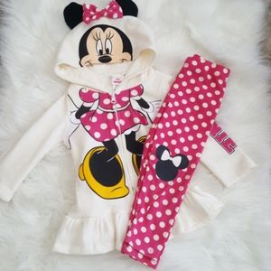 ⭐4/$30 Minnie Mouse Hooded Jogging Suit